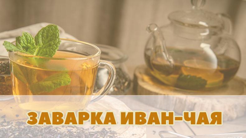 Способы заварки приготовления Иван-чая